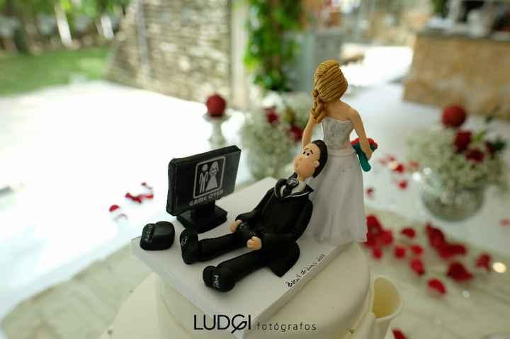Wedding Cake Topper - 1