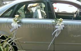Decoração dos carros dos convidados - Ideias 6