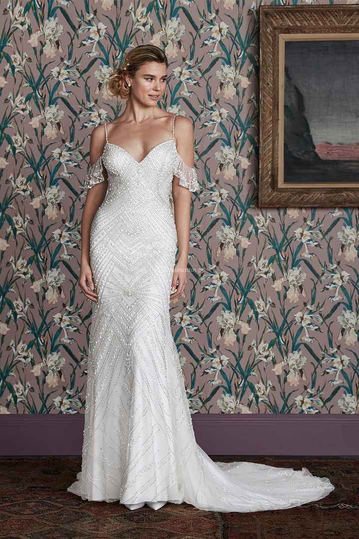 Escolhe um BUQUÊ para este vestido! - 1