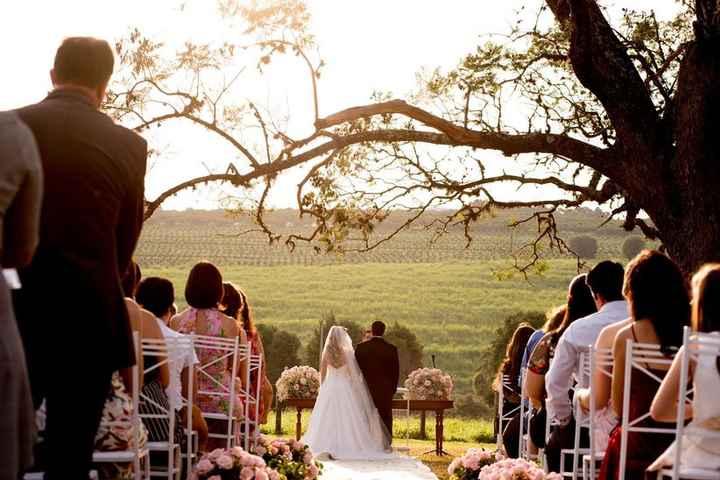 Meu casamento terá que ser ao ar livre: o que levar em consideração? - 2