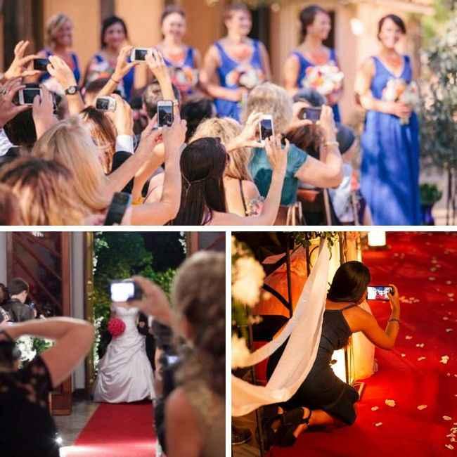 Proibir fotos na cerimônia: SIM ou NÃO? - 1