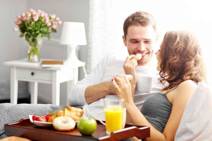 O que é indispensável num pequeno almoço na cama? - 1