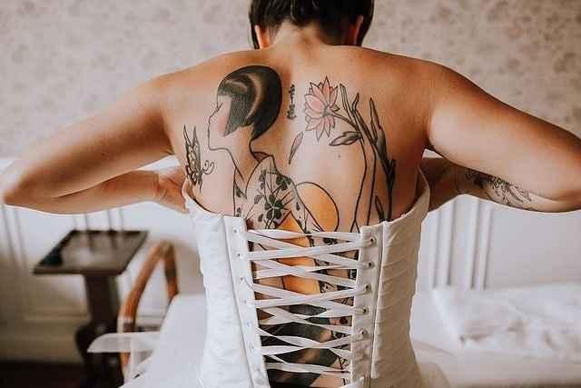 És uma noiva tatuada? - 1