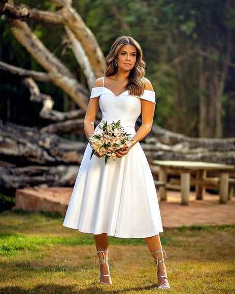 Este look de noiva é perfeito para... - 1