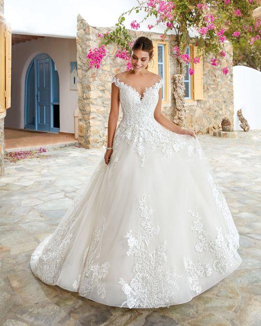 Se meu casamento fosse hoje, usaria... este vestido! 1