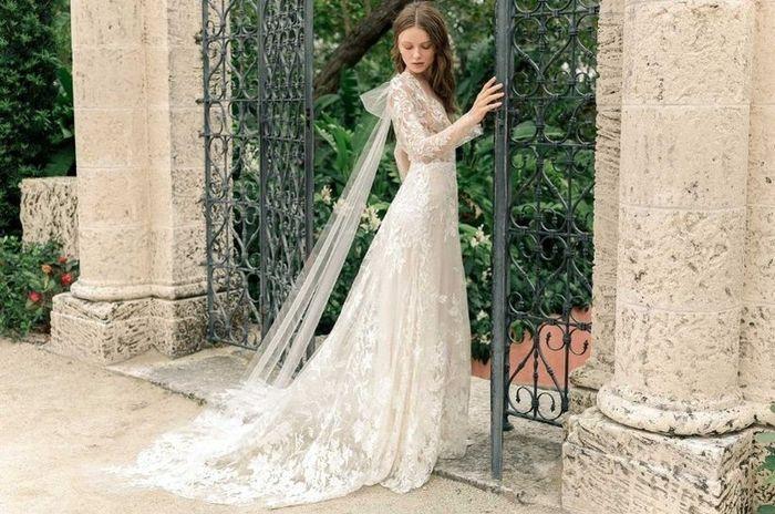 Se meu casamento fosse hoje, usaria... este véu! 1