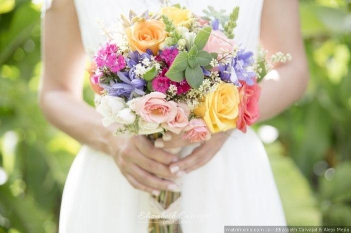 Se meu casamento fosse hoje, usaria... este buquê! 5