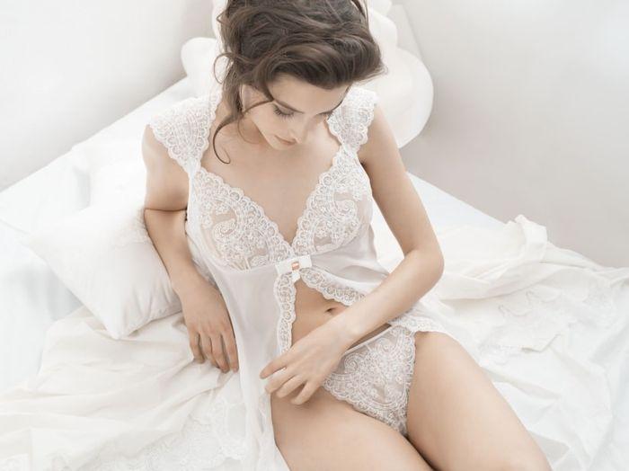 Se meu casamento fosse hoje, usaria... este lingerie! 1