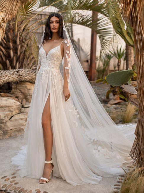 Deixa a tua opinião: gostas deste look de noiva? 1