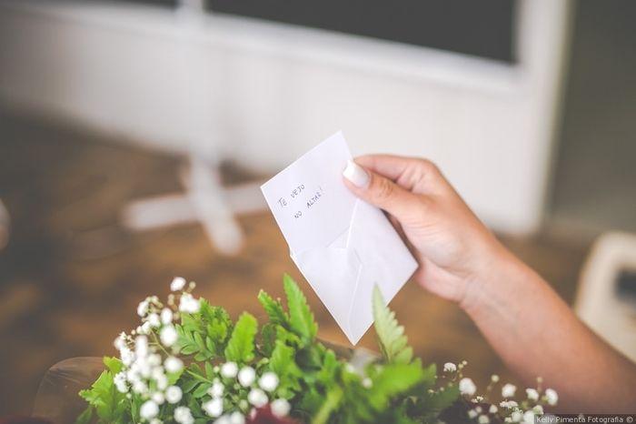 Qual a melhor surpresa romántica no grande dia? 1