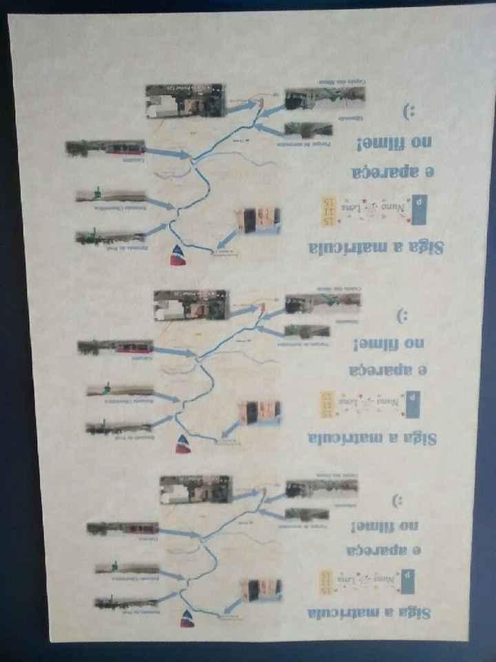 Guias cerimónia e mapa - 1