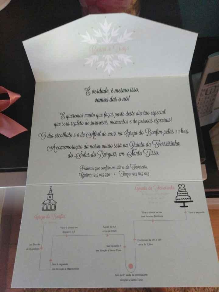 Os meus Convites lindos ❤❤❤ - 2