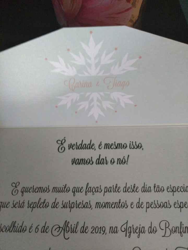 Os meus Convites lindos ❤❤❤ - 3