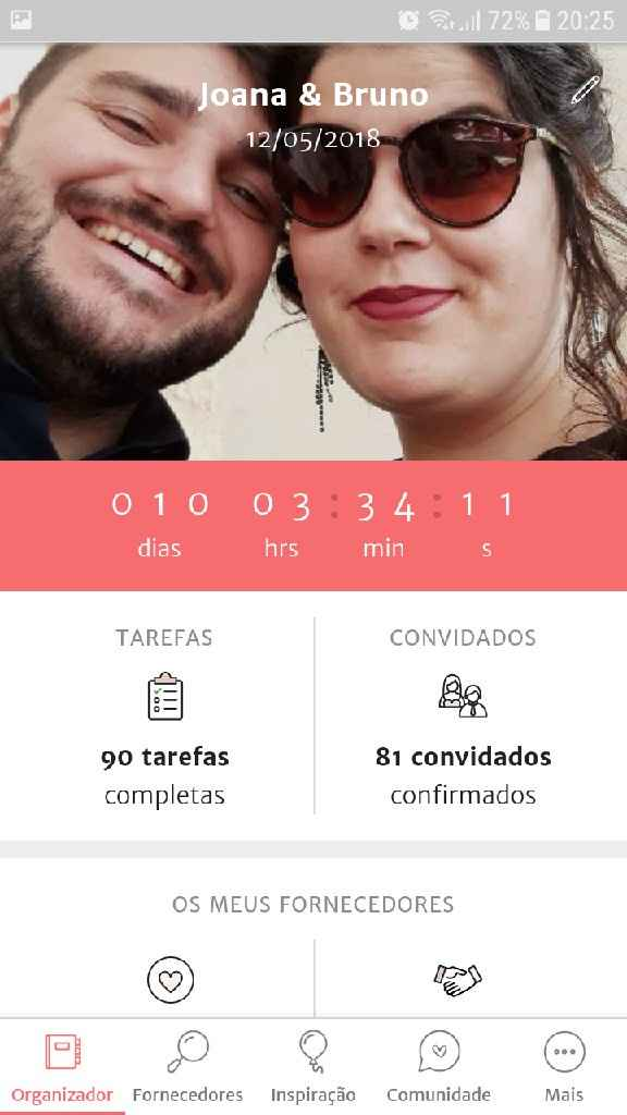 Faltam 10 dias!! ❤💐💍 - 1