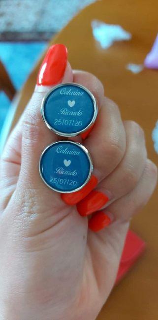 Botões de punho personalizados - 1