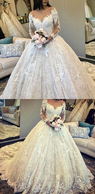 o que mais gosto num vestido de noiva - Vânia 1