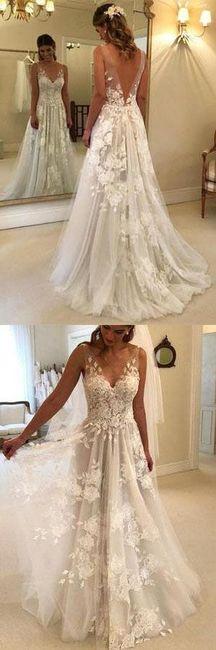 o que mais gosto num vestido de noiva - Vânia 2