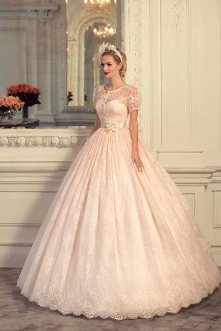 Vestido de noiva - princesa peach - inspirações - 3
