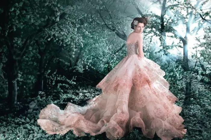 Vestido de noiva - princesa peach - inspirações - 9