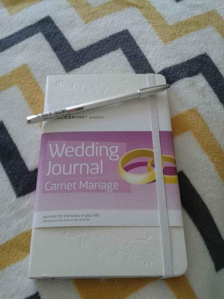 Agenda de noiva - 1