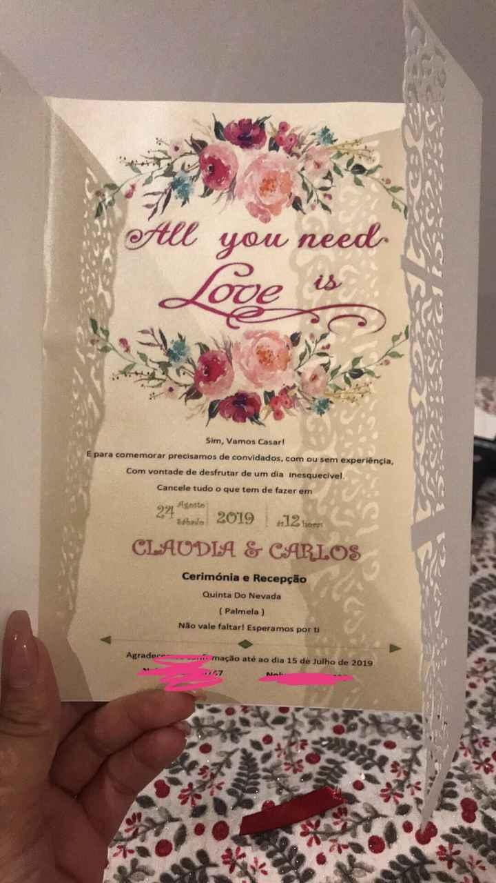 Convites ✅ - 1