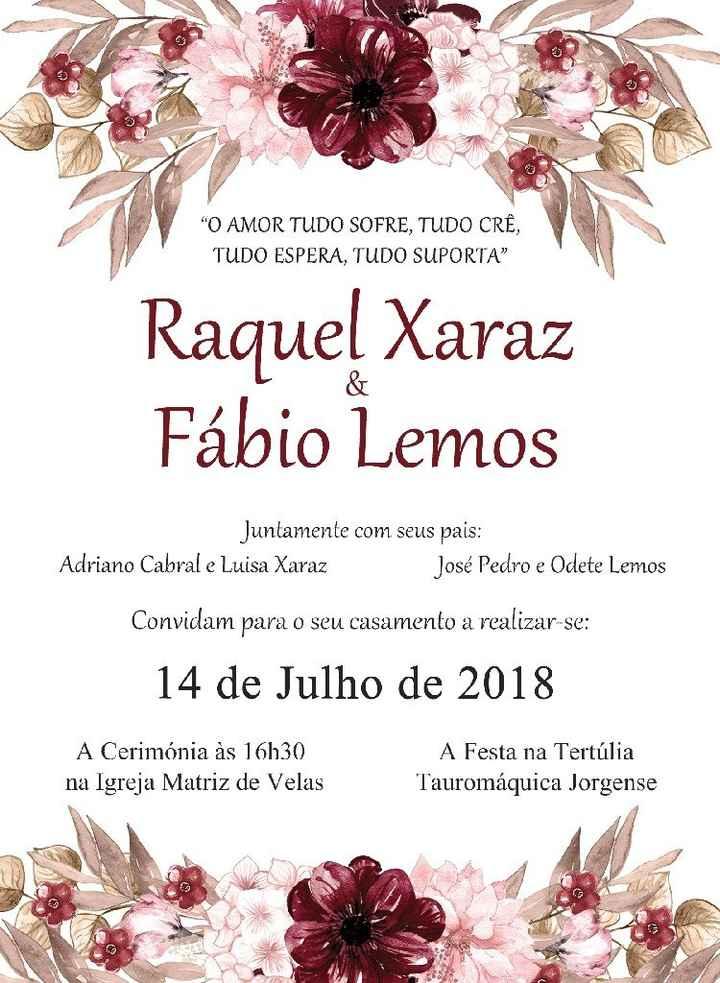Check: Convites de Casamento - 3