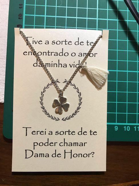Pedidos Damas de Honor ✔️ 1