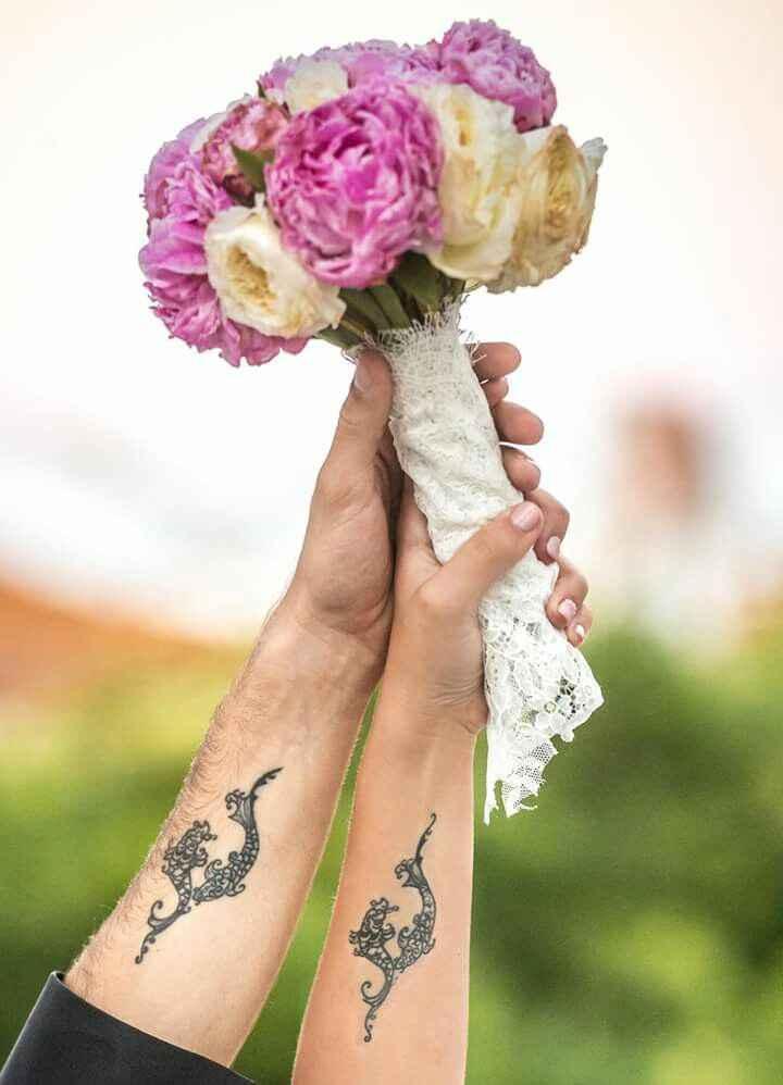 Que noivinhas têm tatuagens? - 1