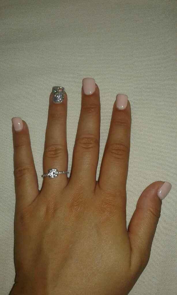 Eis o anel de noivado :) - 1