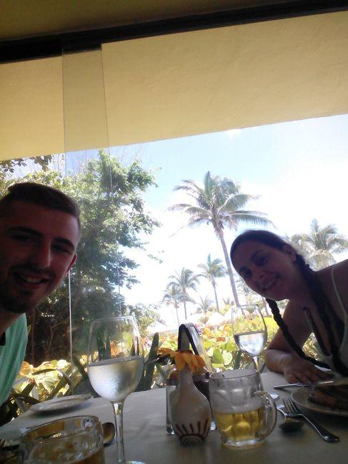 Almoço no hotel