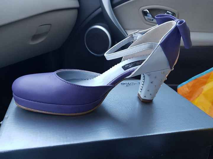 Sapatos lilas onde encontrar? - 2