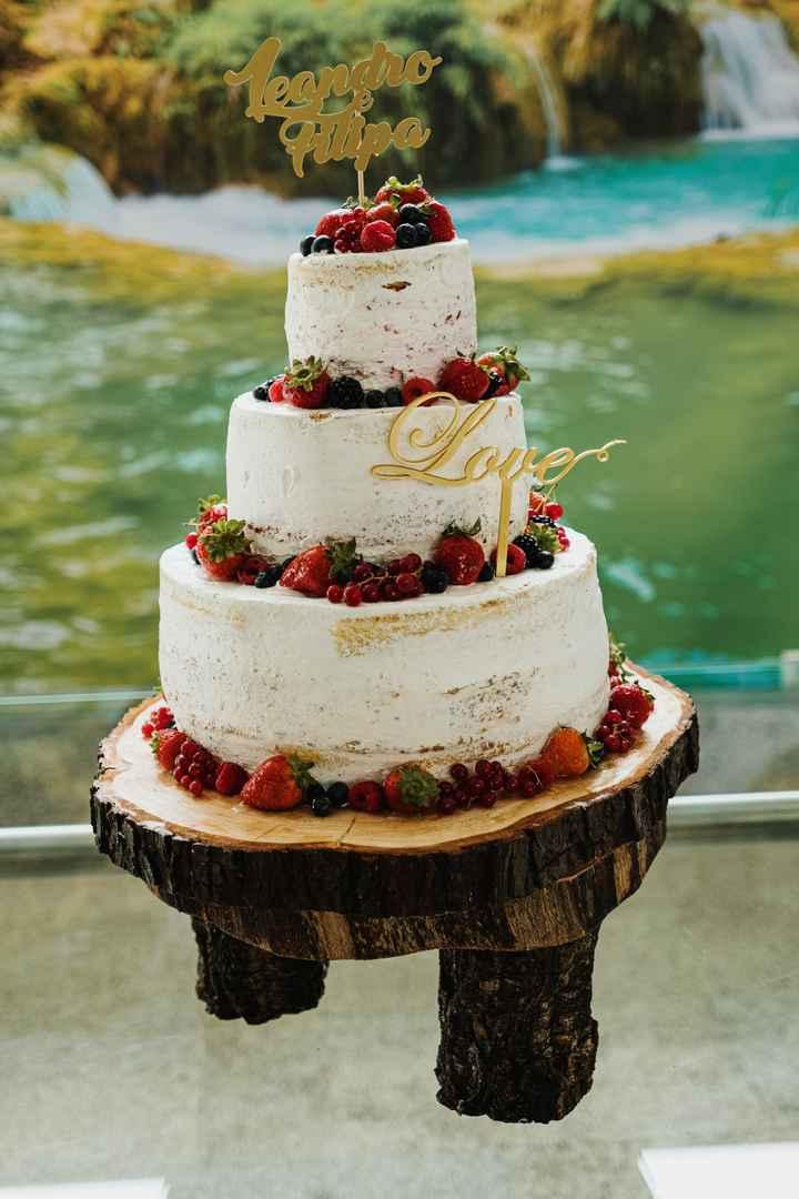 O nosso bolo maravilhoso e delicioso