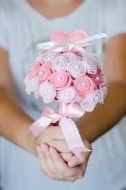 em forma de bouquet