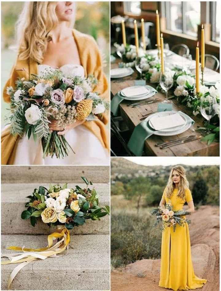 Tendência de cores de casamentos 2019 1