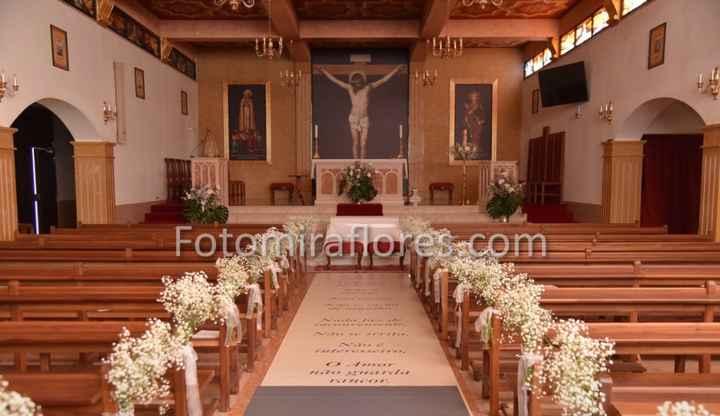 Decoração floral (igreja) ⛪️ 1