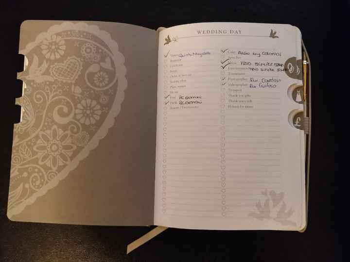 Agenda de Casamento - 6
