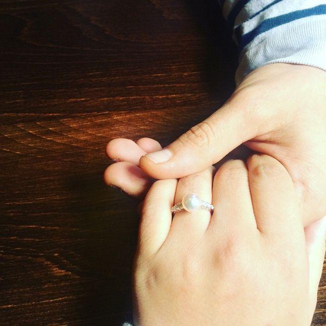 o anel de noivado 💍😍 - 2