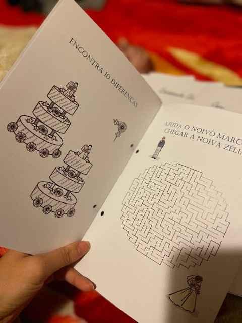 Manualidades: cones e livro de actividades - 5