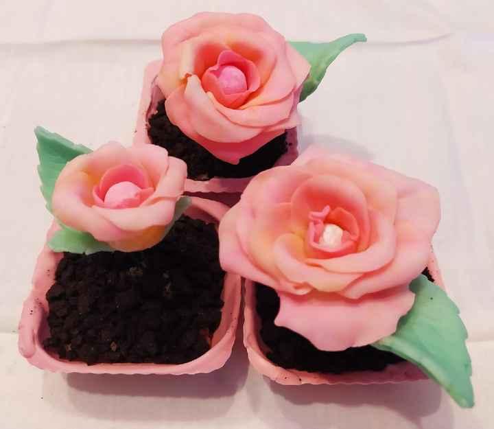 Bolos de casamento decorados com flores secas 💐😍 - 1