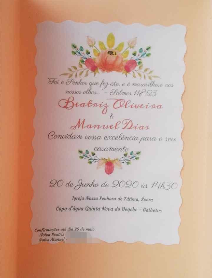 Convites - 2