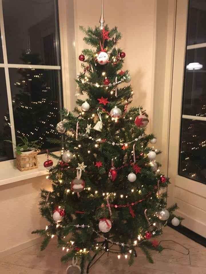 A nossa primeira arvóre de Natal