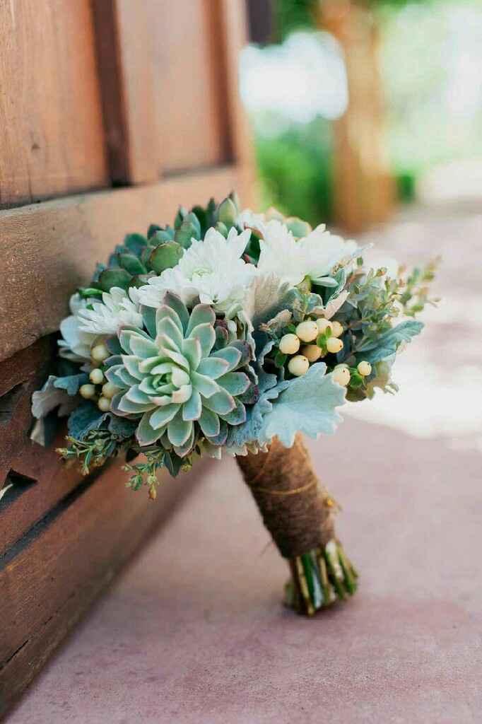 Bouquet c/ suculentas - 1