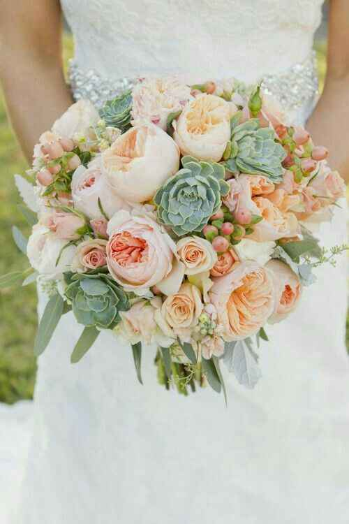 Bouquet c/ suculentas - 2
