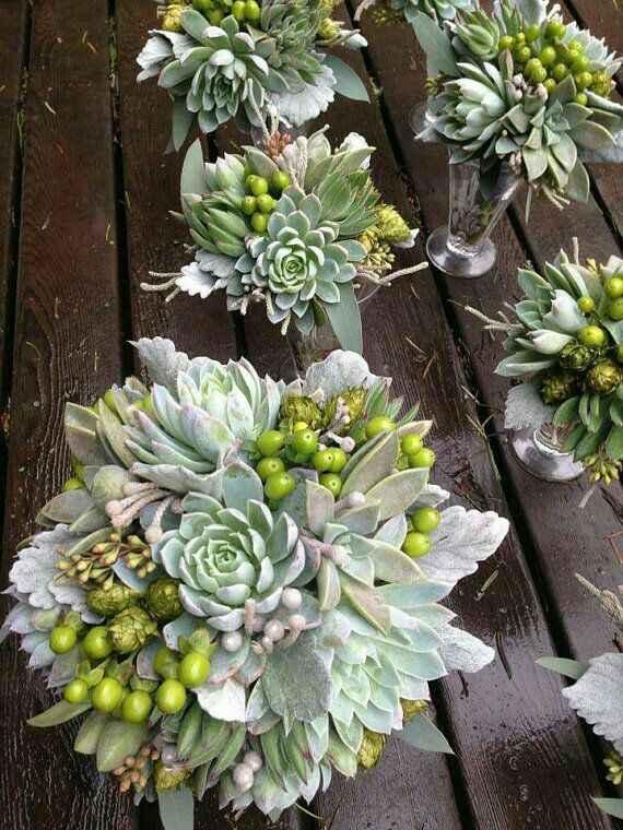 Bouquet c/ suculentas - 4