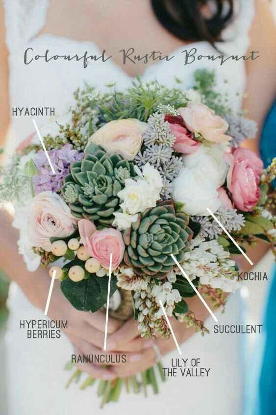 Bouquet c/ suculentas - 6