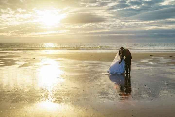 Tela com Foto do Casamento - 2