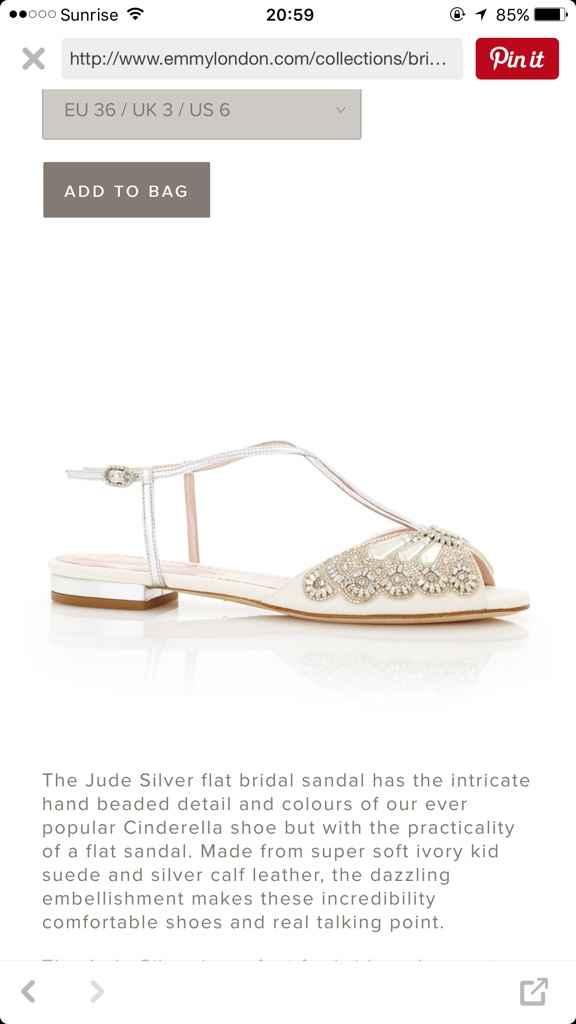 Sapatos rasteiros - 1