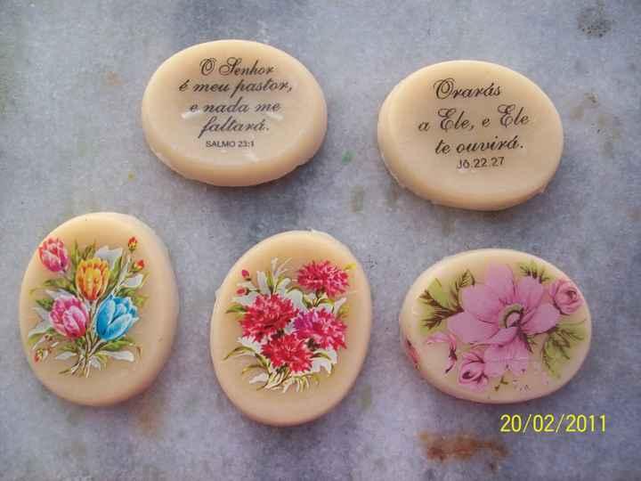 Ideias para decorar sabonetes - 1