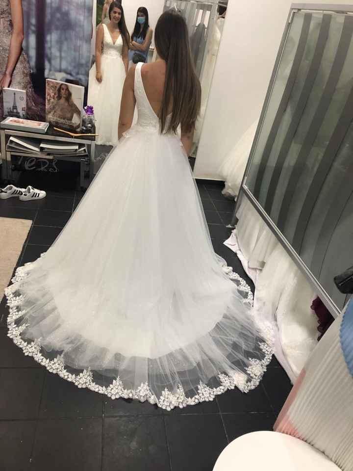 a primeira prova do meu vestido ❤️ - 4