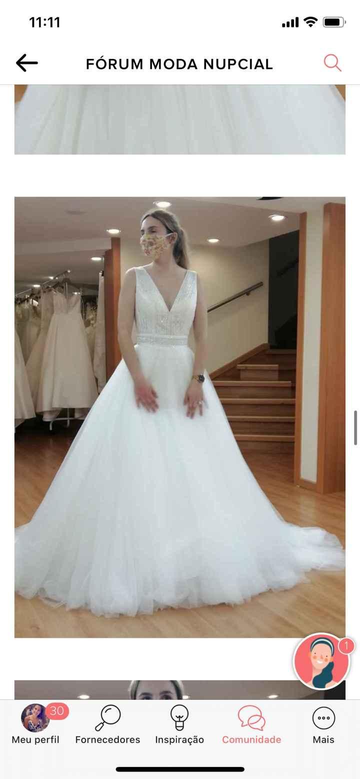 E o vestido de Noiva está escolhido !! - 1